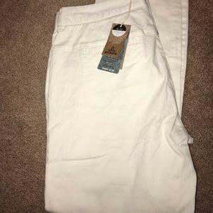 Prana Stella White Pants 14 NWT